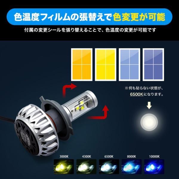 LEDヘッドライト バイク 1個 28W 20W 3000LM 2200LM 色変更 12V 24V ヘッドライト (LED-B3S)|mtkshop|03