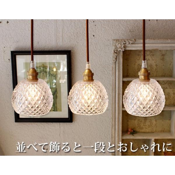 LED電球付属 ペンダントライト ガラス 北欧 アンティーク led  Saphir サフィール  ONG-002-1|mu-ra|02