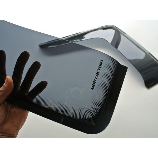 ハイエース200系4型網戸対応小窓バイザー(1P)|mudfactory|09