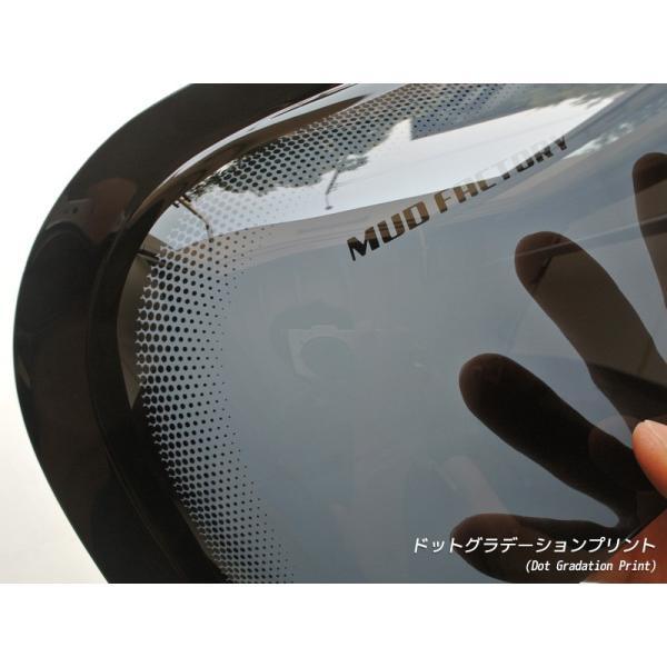 アクティトラックHA6/HA7、アクティバンHH5/HH6、バモス/ホビオ ドアバイザー (ビッグワイド/ダークスモーク) mudfactory 09