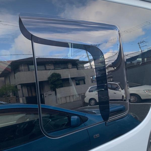 ハイエース200系4型~5型 サイドバイザー (小窓用バイザー/左右セット)|mudfactory|15