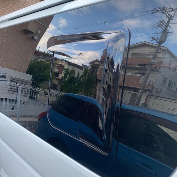 ハイエース200系4型~5型 サイドバイザー (小窓用バイザー/左右セット)|mudfactory|16