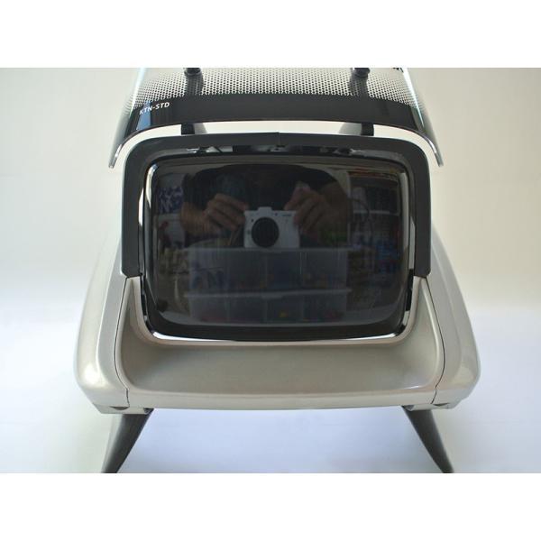 カタナ GSX400S/GSX250S ヘッドライトカバー (ダークスモーク) mudfactory 09