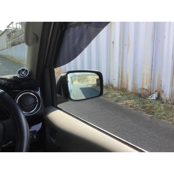 NV350キャラバン ドアバイザー (ビッグワイド/ダークスモーク)|mudfactory|06