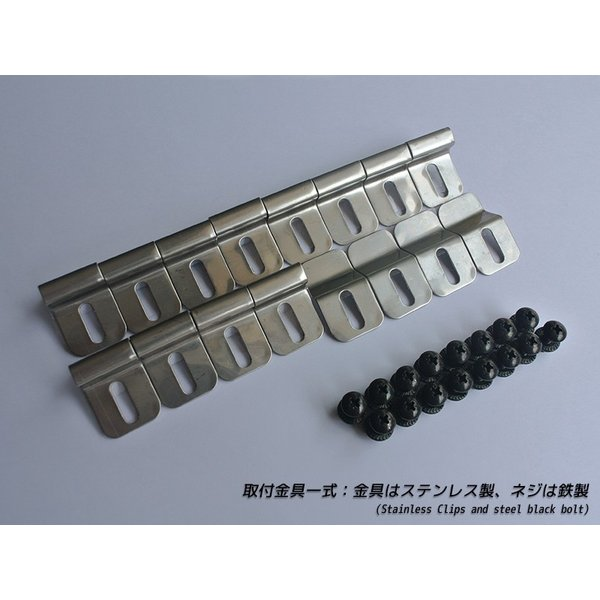 ジムニー ドアバイザー(スーパーワイド/ライト) 適合 SJ30/JA71/JA11/JA12/JA22/JB31/JB32 mudfactory 10