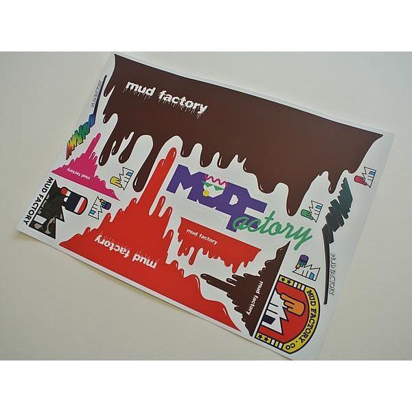 マッドファクトリー・チョコステッカー・痛ステッカーセット(デカール)|mudfactory|03