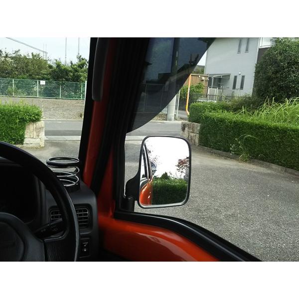 サンバートラック/ディアスバン/ワゴン:TT1/TT2/TV1/TV2/TW1/TW2 ドアバイザー (ビッグワイド/ダーク)フロント用のみ mudfactory 15