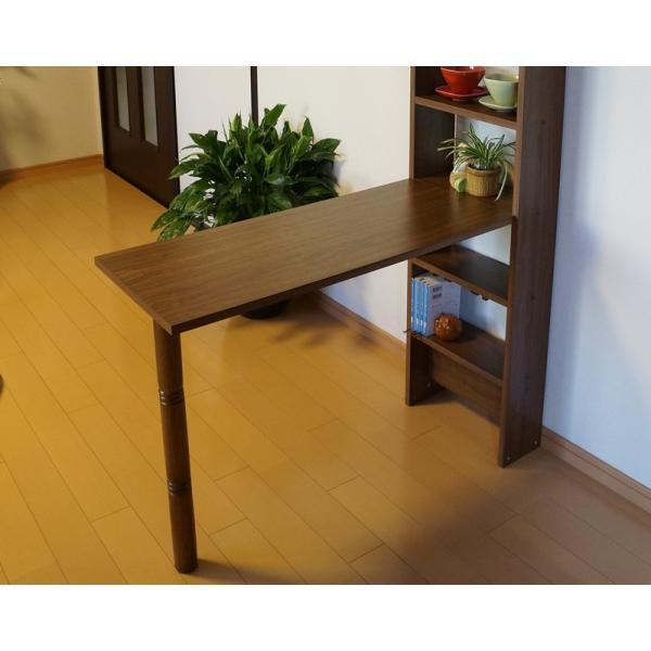 テーブル+ポール脚+棚コネクター1個付セット mugen-cf