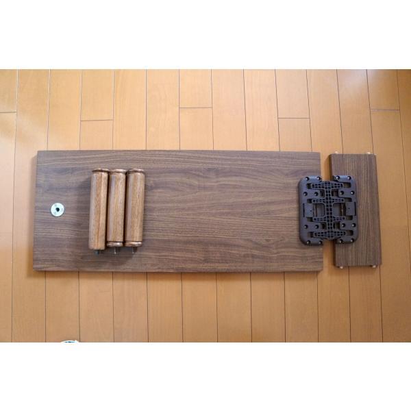 テーブル+ポール脚+棚コネクター1個付セット mugen-cf 02