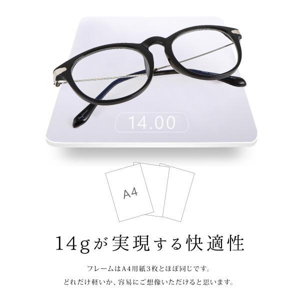 【25日まで限定クーポン】PCメガネ ブルーライトカット ユニセックス ポイント消化 mujina 15