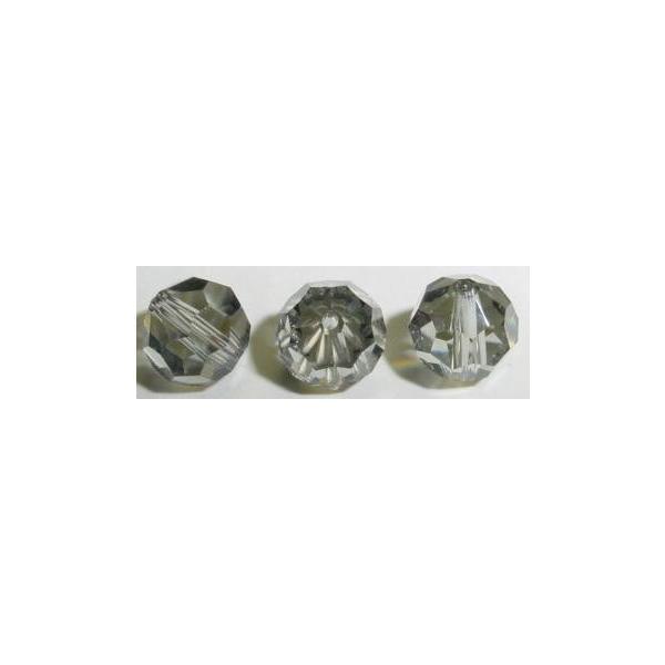スワロフスキー #5000 ブラックダイヤモンド SWAROVSKI ビーズパーツ ハンドメイド 手芸用品 ラウンド 丸玉