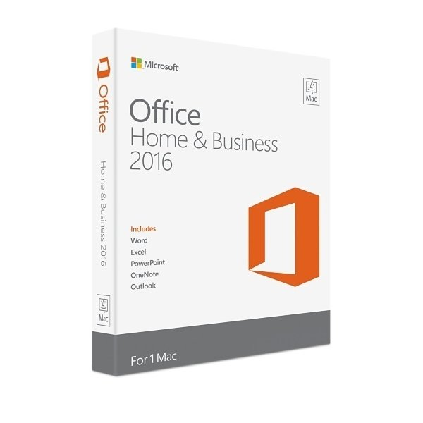 Office for Mac 2016 Home and Business