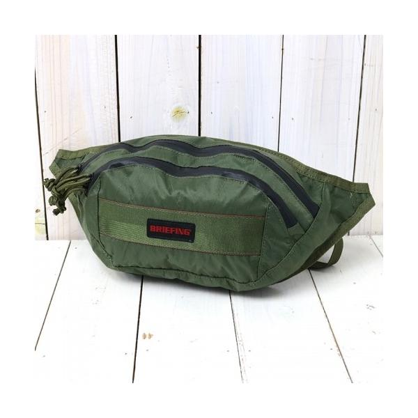 BRIEFING (ブリーフィング)『FANNY PACK XP』(OLIVE)