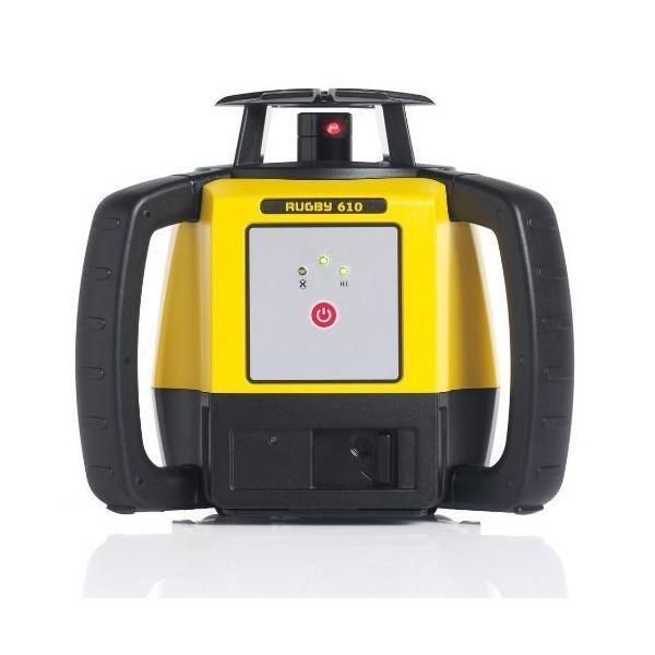 ライカ ラグビー610 受光器2個仕様 自動整準 回転レーザーレベル【送料無料】