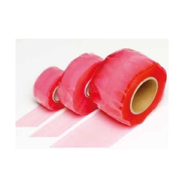 信越ポリマー 自己融着性シリコーンゴムテープ ポリママルチテープ 25mm幅 2m