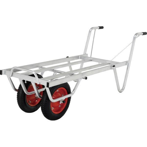 アルインコ  SKX03W アルミ合金製 コンテナカー/リヤカー 二輪車(一輪車)SKP03W