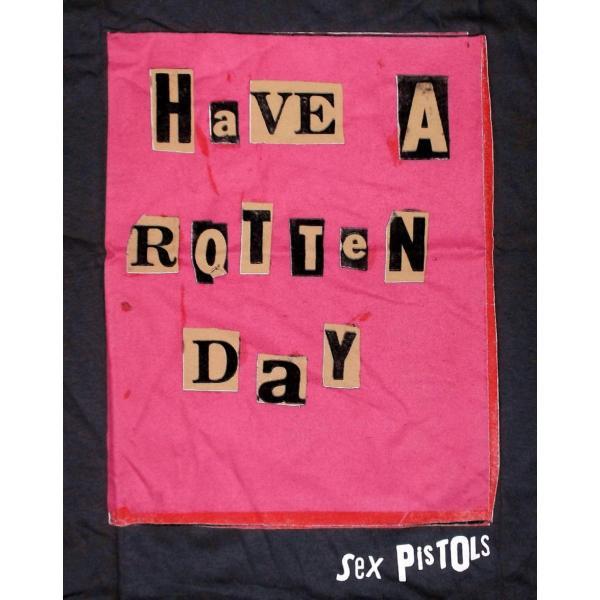 セックスピストルズ Tシャツ Sex Pistols Rotten Day 正規品