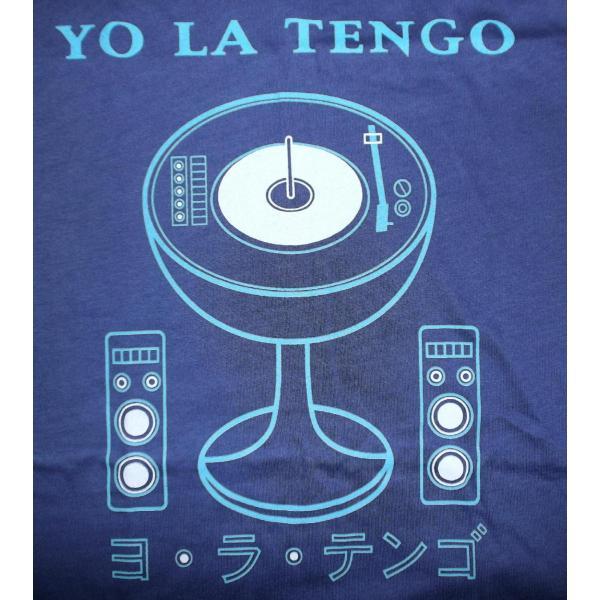 ヨ ラ テンゴ Tシャツ Yo La Tengo STEREO 正規品 ヨ・ラ・テンゴ ロックTシャツ バンドTシャツ