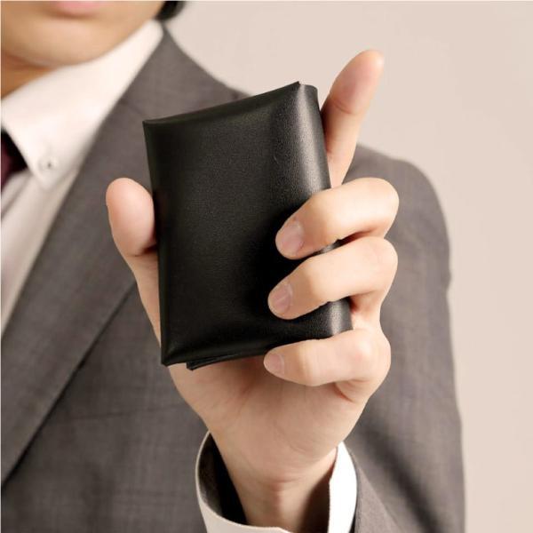 名刺入れ メンズ 本革 レザー 黒 カードケース レディース 大容量 50枚以上|mura|04