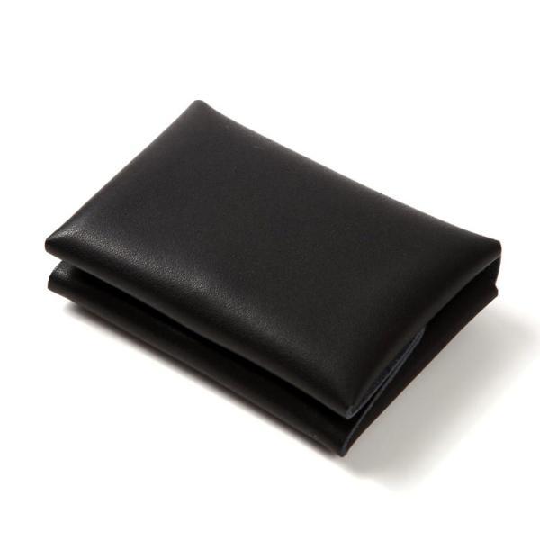名刺入れ メンズ 本革 レザー 黒 カードケース レディース 大容量 50枚以上|mura|10