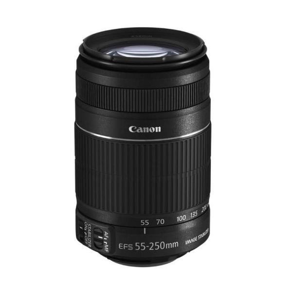 Canon 望遠ズームレンズ EF-S55-250mm F4-5.6 IS II APS-C対応 メーカー保証有 キャノン 白箱タイプ   /05P05July14