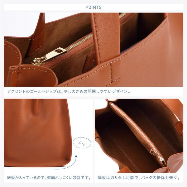トートバッグ レディース 小さめ スクエア 大容量 可愛い 人気 おしゃれ bag|mura|17