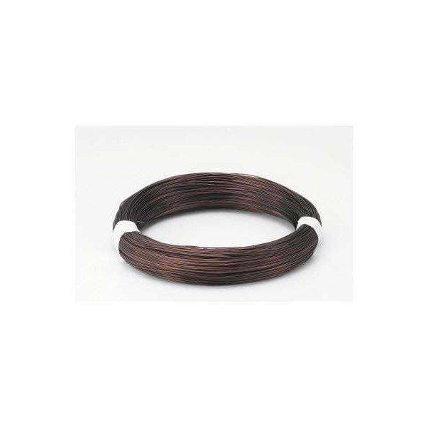 盆栽用アルミ針金 黒 100g