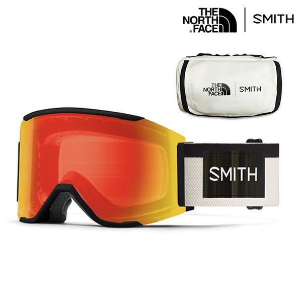 早期予約販売 スノーボード ゴーグル SMITH スミス × The North Face ノースフェイス Squad MAG スカッド マグ 調光レンズ 21-22モデル IX G2
