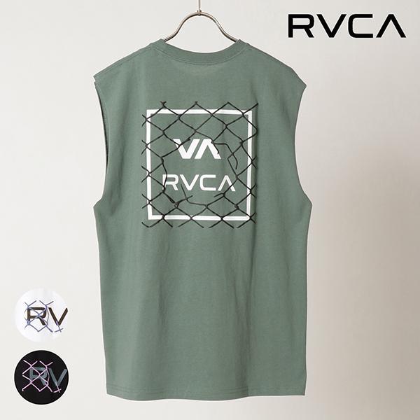 RVCA ルーカ LINX TT タンクトップ BB041-350 メンズ タンクトップII1 C23