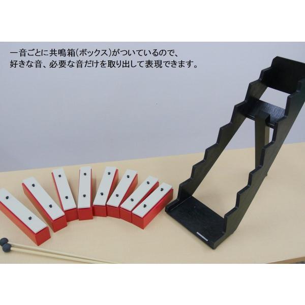 SUZUKI スズキ 音階ステップ付サウンドブロック 幹音8音セット SB-8|murashop|05