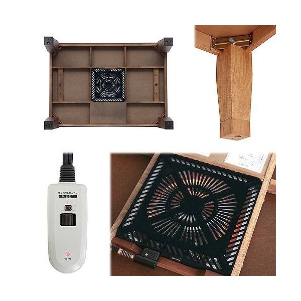 モダン リビング こたつ ディレット 105×75cm 長方形 コタツ テーブル|muratakagu|03