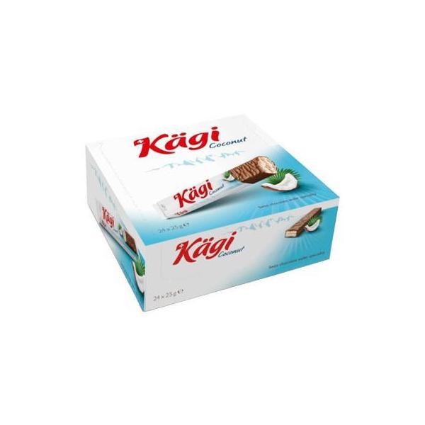 Kagi(カーギ) チョコウエハース ココナッツバー 25g×24本
