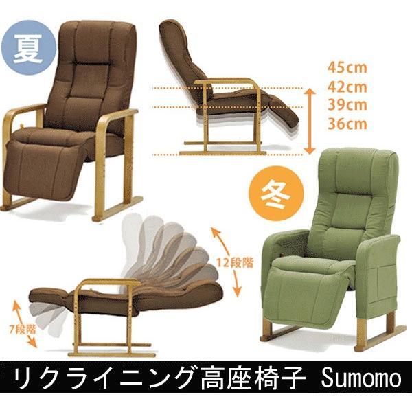 リクライニング高座座椅子 Sumomo スモモ muratakagu