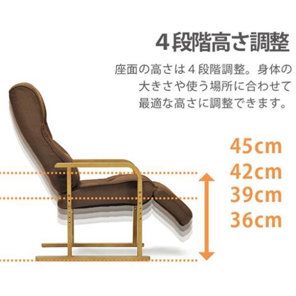 リクライニング高座座椅子 Sumomo スモモ muratakagu 04