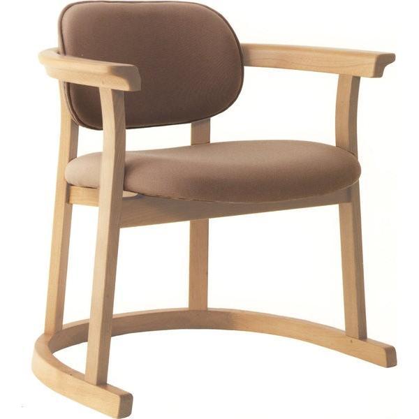 かに座 PLUS ハイタイプ KP-200 ダイニングチェア 高座椅子 バリアフリー 立ち上がり楽々 天然木 無限工房 高齢者 障害者|muratakagu|03