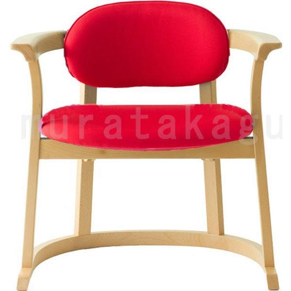 かに座 PLUS ハイタイプ KP-200 ダイニングチェア 高座椅子 バリアフリー 立ち上がり楽々 天然木 無限工房 高齢者 障害者|muratakagu|05