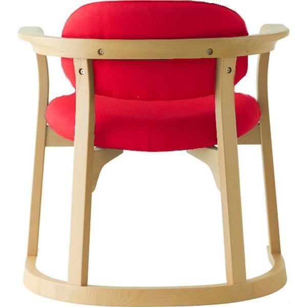 かに座 PLUS ハイタイプ KP-200 ダイニングチェア 高座椅子 バリアフリー 立ち上がり楽々 天然木 無限工房 高齢者 障害者|muratakagu|07