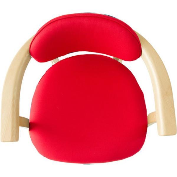 かに座 PLUS ハイタイプ KP-200 ダイニングチェア 高座椅子 バリアフリー 立ち上がり楽々 天然木 無限工房 高齢者 障害者|muratakagu|08