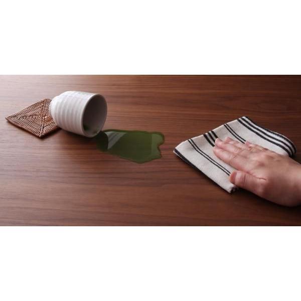 天然木ウォールナット材 和モダンこたつテーブル STRIGHT ストライト 長方形 105×75|muratakagu|04