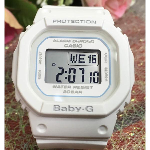 恋人達のペアウオッチ カシオ G-SHOCK BABY-G DW-5600DE-2JF BGD-560-7JF 青 白 送料無料