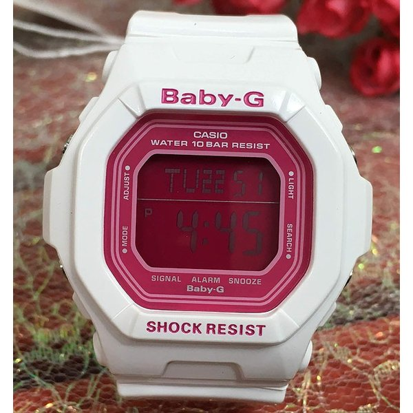 恋人達のペアウオッチ カシオ G-SHOCK BABY-G DW-D5600P-1JF BG-5601-7JF 黒 白 送料無料
