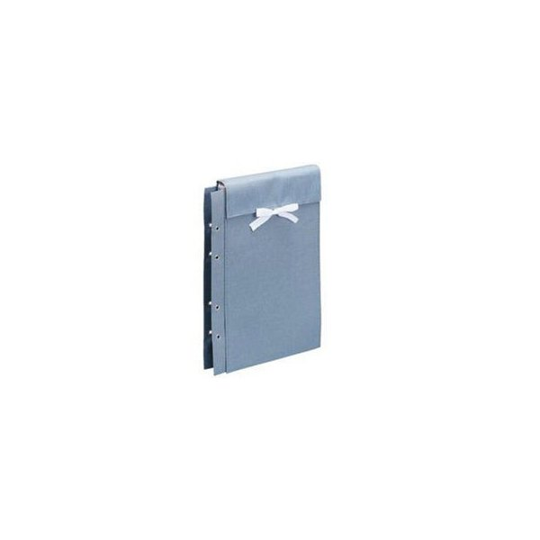 FILE/ファイル  布製図面袋 ひも式 A4判大 ZN-L05C ライトブルー