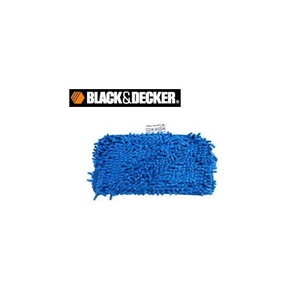 BLACK+DECKER マイクロファイバーモップ×2枚 FSMP25の画像