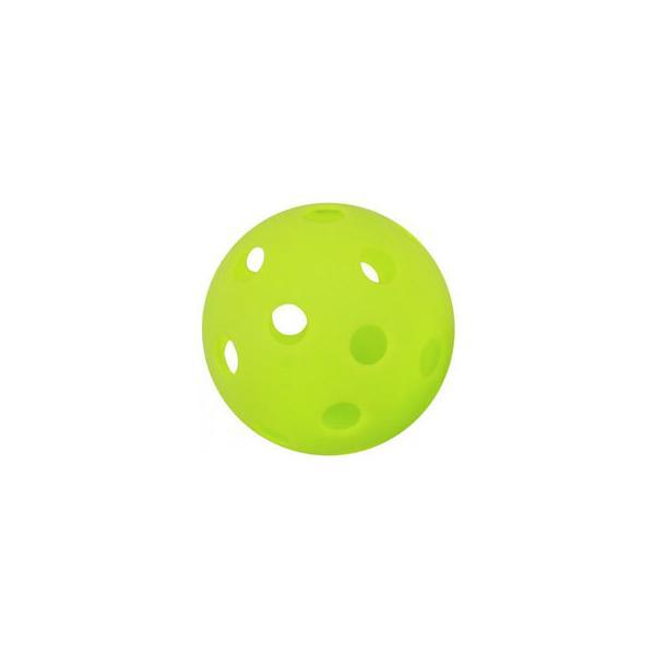 GP/ジーピー  バッティングトレーニングボール 穴あき 蛍光緑 42mm 12個入り34138