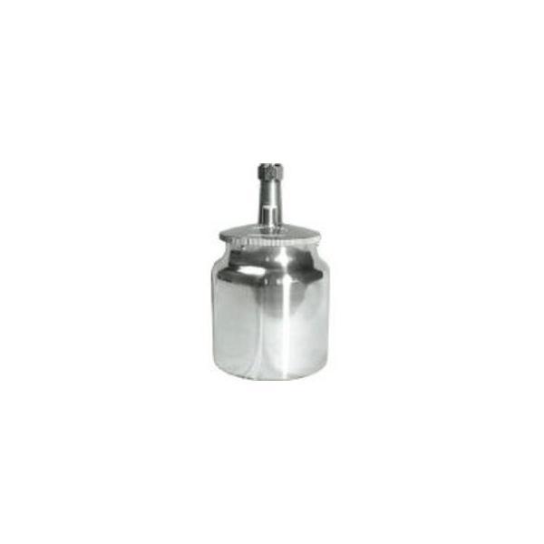 Ransburg/ランズバーグ・インダストリー  DEVILBISS 吸上式塗料カップアルミ製(容量700CC)G3/8 KR-470-1