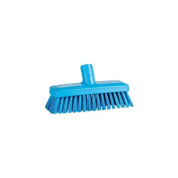 ヴァイカン コンパクトデッキブラシ 70423S ブルー(ハンドル2958付)