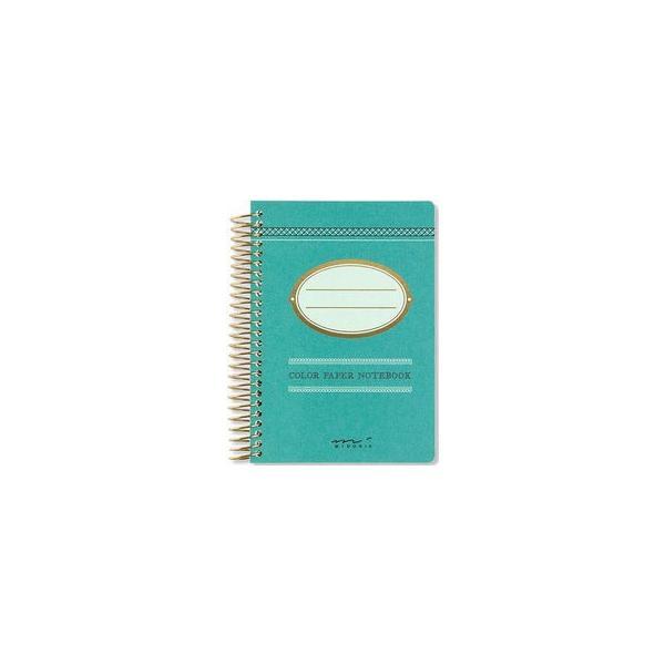 MIDORI/ミドリ  ノート カラー 青緑 15168006