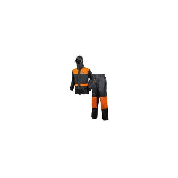 LIFEGUARD/ライフガード  マグナムレインスーツ LR01-OR-EL ELサイズ (オレンジ/ブラック)