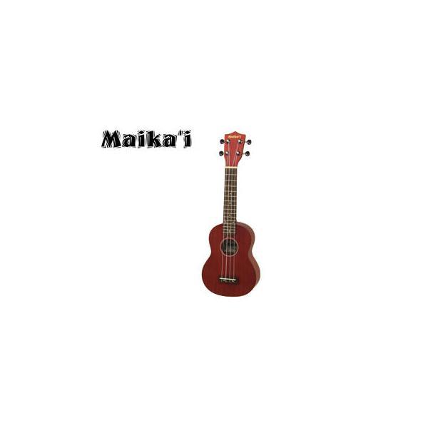 Aria/アリア  MKU-1 RD(レッド) ソプラノウクレレ【Maika'i/マイカイ】【ソフトケース付き】