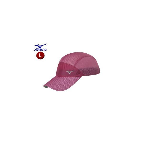 mizuno/ミズノ  J2MW8001-63 ランニングキャップ 【L】 (ピンク)
